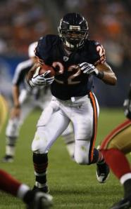 Matt Forte - saves you having to pass the ball all the time...